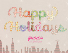 gimme Holiday Card 2012