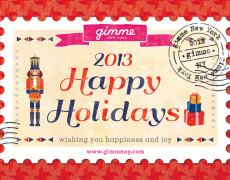 gimme Holiday Card 2013