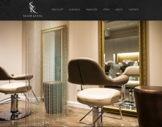 Salon Kinya Website